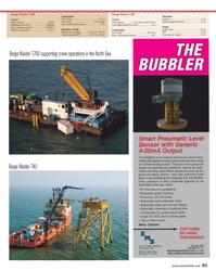 Maritime Reporter Magazine, page 51,  Oct 2013 Sony Ericsson T700 Cellular Phone