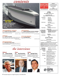 Maritime Reporter Magazine, page 4,  Oct 2013 Michelle Howard