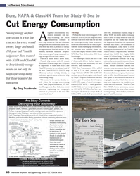 Maritime Reporter Magazine, page 60,  Oct 2013 ship ef?? ciency software