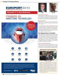 Maritime Reporter Magazine, page 66,  Oct 2013 Thomas B. Crow