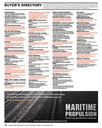 Maritime Reporter Magazine, page 74,  Oct 2013 advertising programs