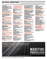 Maritime Reporter Magazine, page 74,  Oct 2013 advertising programs