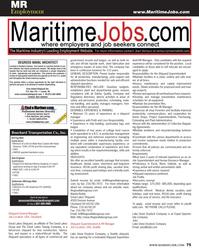 Maritime Reporter Magazine, page 75,  Oct 2013 Wanda Reddy