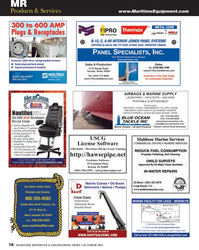 Maritime Reporter Magazine, page 78,  Oct 2013 0502Yankee Wire Cloth Products Inc.