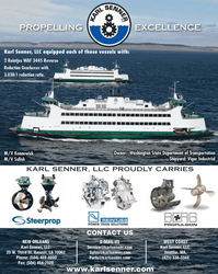Maritime Reporter Magazine, page 4th Cover,  Oct 2013 CONTACT US CONTACT US PROPELLINGEXCELLENCEKARL SENNER LLC