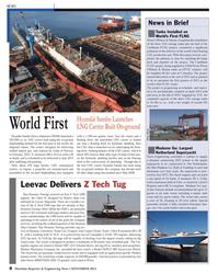 Maritime Reporter Magazine, page 8,  Nov 2013 Texas coast