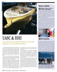 Maritime Reporter Magazine, page 10,  Nov 2013 British Columbia