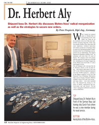Maritime Reporter Magazine, page 12,  Nov 2013 Peter Pospiech