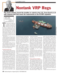 Maritime Reporter Magazine, page 20,  Nov 2013 oil spill response plans