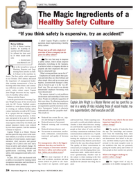 Maritime Reporter Magazine, page 24,  Nov 2013 Marine Learning Systems