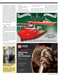 Maritime Reporter Magazine, page 27,  Nov 2013 craft carrier