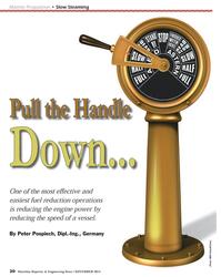 Maritime Reporter Magazine, page 30,  Nov 2013 Peter Pospiech