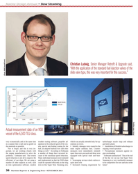 Maritime Reporter Magazine, page 36,  Nov 2013 trim optimization software