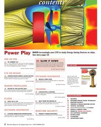 Maritime Reporter Magazine, page 2,  Nov 2013 Michael Baldauf
