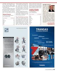 Maritime Reporter Magazine, page 55,  Nov 2013 Europe