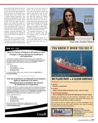 Maritime Reporter Magazine, page 57,  Nov 2013 Magda Chambriard