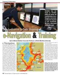 Maritime Reporter Magazine, page 62,  Nov 2013 World Maritime University