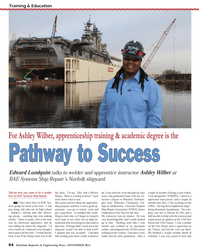Maritime Reporter Magazine, page 64,  Nov 2013 Port Royal