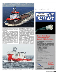 Maritime Reporter Magazine, page 69,  Nov 2013 Maritime Research Institute