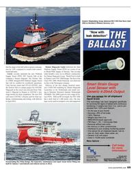 Maritime Reporter Magazine, page 69,  Nov 2013 Maritime Research Institute
