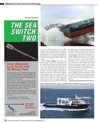 Maritime Reporter Magazine, page 70,  Nov 2013 North Sea