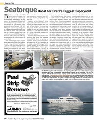 Maritime Reporter Magazine, page 76,  Nov 2013 Manoel Chaves