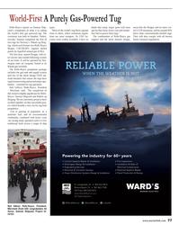 Maritime Reporter Magazine, page 77,  Nov 2013 gas engines