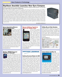 Maritime Reporter Magazine, page 85,  Nov 2013 SMS