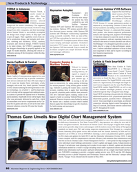 Maritime Reporter Magazine, page 3rd Cover,  Nov 2013 SmartVIEW technology