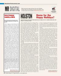Maritime Reporter Magazine, page 8,  Dec 2013 Mississippi