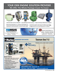 Maritime Reporter Magazine, page 11,  Dec 2013