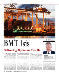Maritime Reporter Magazine, page 22,  Dec 2013 Port Security