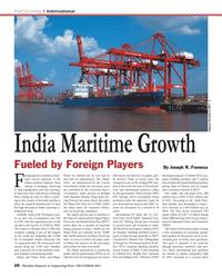 Maritime Reporter Magazine, page 26,  Dec 2013 Jacob Ballas