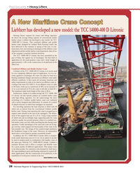 Maritime Reporter Magazine, page 28,  Dec 2013 Black Sea