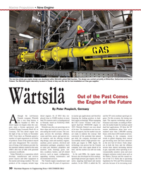 Maritime Reporter Magazine, page 30,  Dec 2013 dual-fuel engine technology