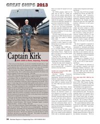 Maritime Reporter Magazine, page 36,  Dec 2013 Michael Monsoor