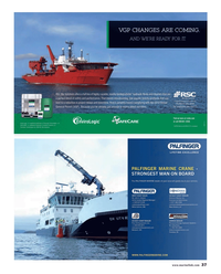 Maritime Reporter Magazine, page 37,  Dec 2013