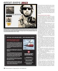 Maritime Reporter Magazine, page 38,  Dec 2013 Honor