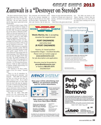 Maritime Reporter Magazine, page 39,  Dec 2013 propeller applications