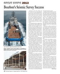 Maritime Reporter Magazine, page 44,  Dec 2013 Jamal Abki