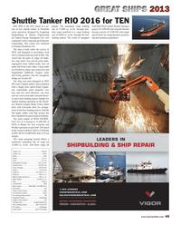 Maritime Reporter Magazine, page 45,  Dec 2013 fuel oil tanks