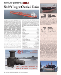 Maritime Reporter Magazine, page 46,  Dec 2013 energy ef