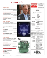 Maritime Reporter Magazine, page 4,  Dec 2013 Western Europe