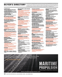 Maritime Reporter Magazine, page 58,  Dec 2013 advertising programs