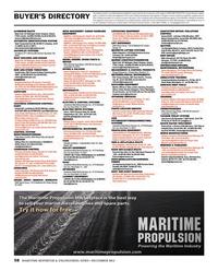 Maritime Reporter Magazine, page 58,  Dec 2013 advertising programs