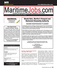 Maritime Reporter Magazine, page 59,  Dec 2013 Massachusetts