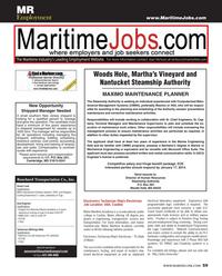 Maritime Reporter Magazine, page 59,  Dec 2013 Massachusetts