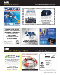 Maritime Reporter Magazine, page 63,  Dec 2013 BUOYSBLUE OCEAN TACKLE INC