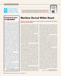 Maritime Reporter Magazine, page 8,  Jan 2014