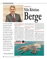 Maritime Reporter Magazine, page 24,  Jan 2014